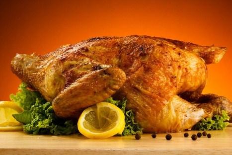 Курица в духовке с лимоном