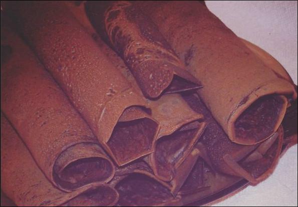Блины из какао