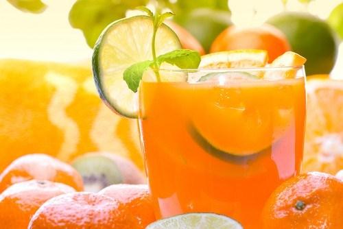 Апельсиновый бласт с бурбоном