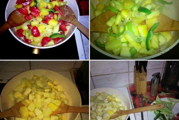 Тушеные овощи по-испански (Писто)