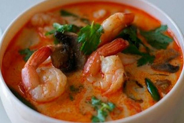 Настоящий тайский суп том-ям