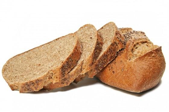 Хлеб из молотых отрубей с мукой