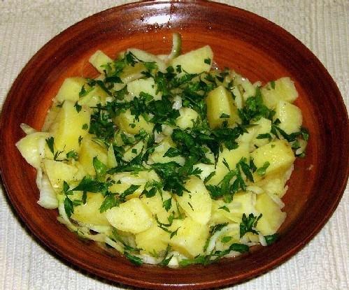 Картофель-салат