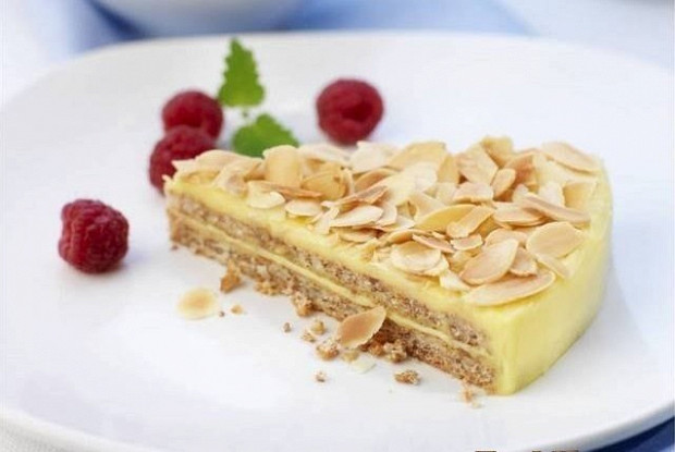 Шведский миндальный торт