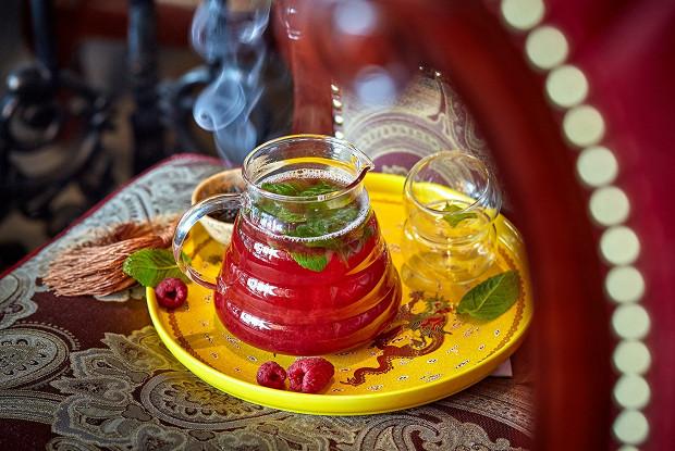 Ягодный чай с Лапсанг Сушонг