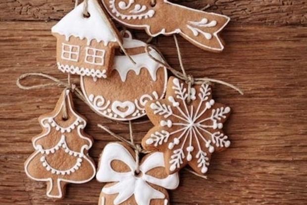 Имбирное печенье «Рождество»