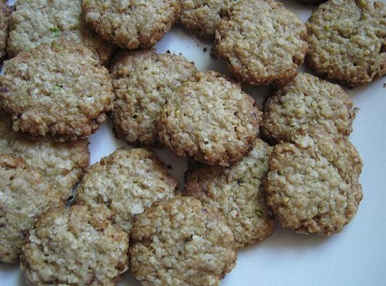 Овсяное печенье без муки