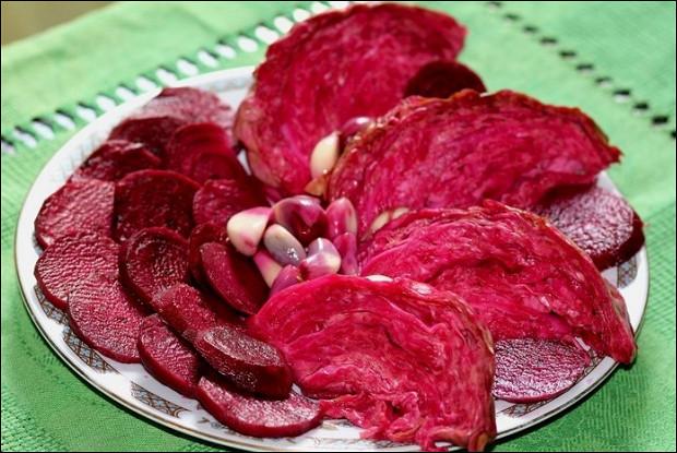 Квашенная красная капуста по рецепту Тинатин Мжаванадзе