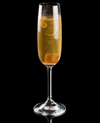 Классический коктейль из шампанского