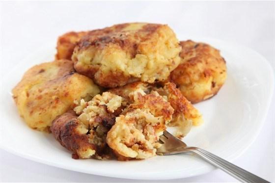 Котлеты из картофеля и отрубей