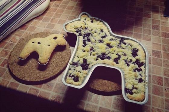 Песочное печенье со смородиной