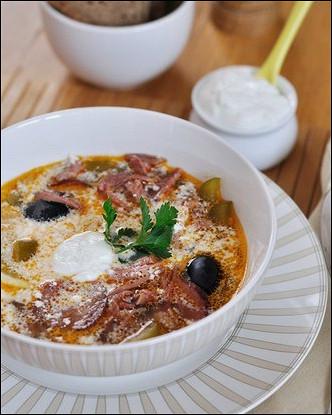 Эстонский суп из малосольной свинины с квашеной капустой и крупой «Капсад мульги»