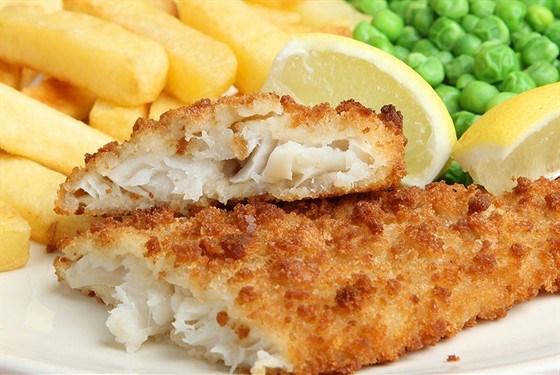 Картошка с рыбой