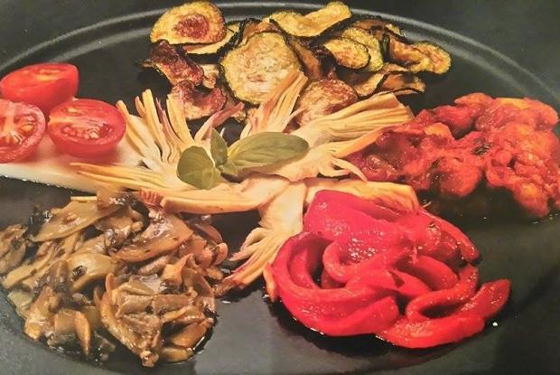 Овощные антипасти (закуски по-итальянски)