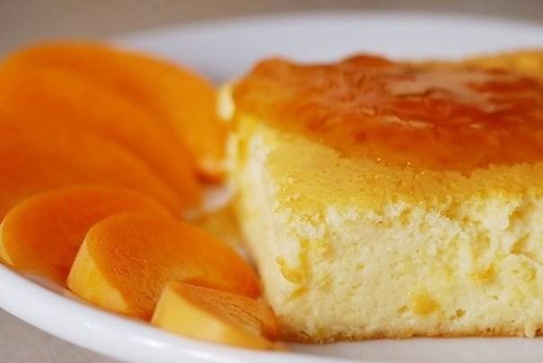 Творожно-апельсиновый чизкейк