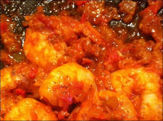Креветки по-креольски (Shrimp Creole)
