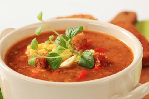 Африканский ореховый суп с красными перцами