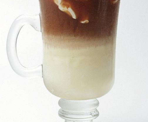 Сливочный кофе с кленовым сиропом