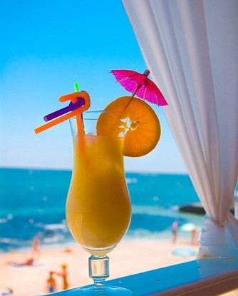Миндально-апельсиновый коктейль