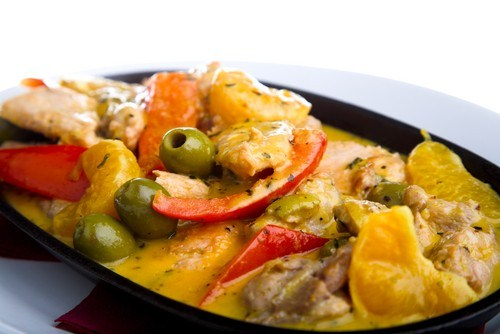 Марокканский салат из лимонов