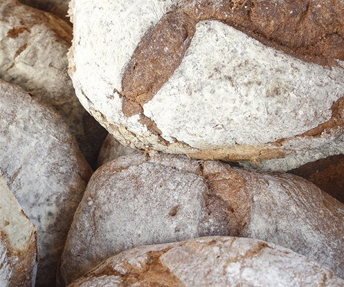 Хлеб с орехами пекан и клюквой