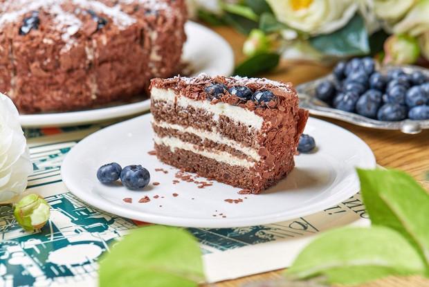 Черемуховый торт без глютена