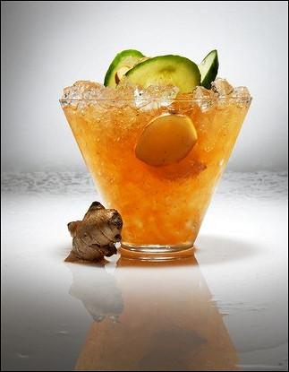 Замороженный имбирный лимонад