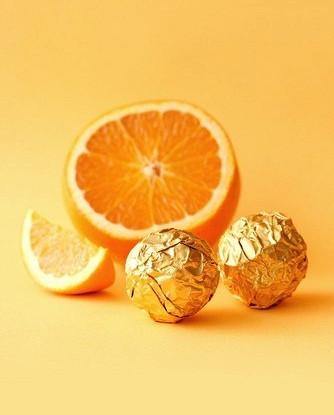 Апельсиновые конфеты с грецкими орехами