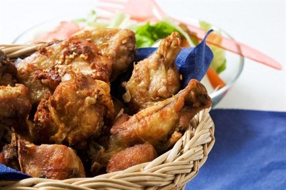 Цыплята в коньячном соусе