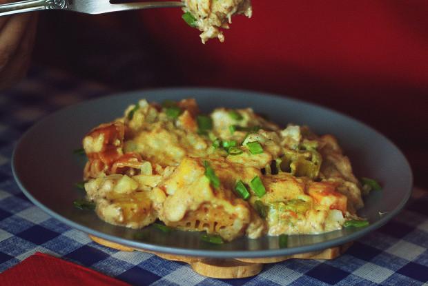 Макароны с сыром по-американски (Mac and cheese)