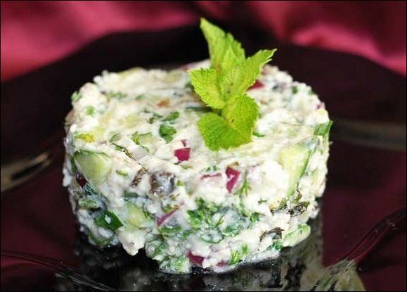 Египетский салат «Маллави»