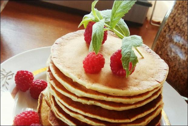 Блинчики на сливках по-американски (pancakеs)