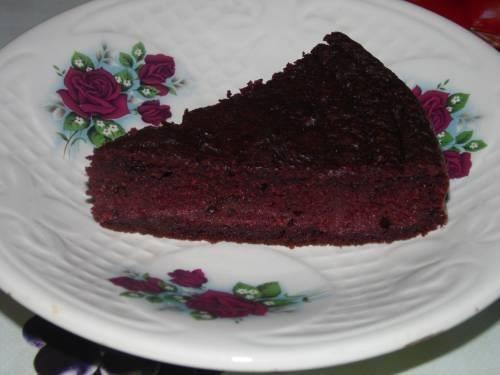 Ржаной пирог со свеклой
