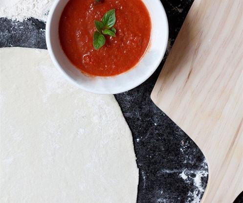 Быстрое дрожжевое тесто для пиццыы