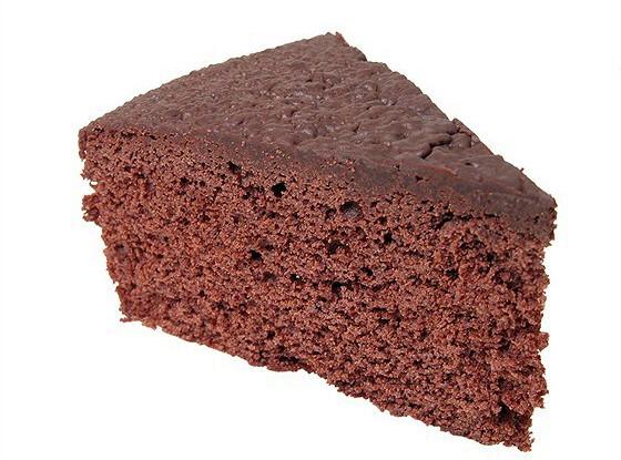 Шоколадный кекс с ликером