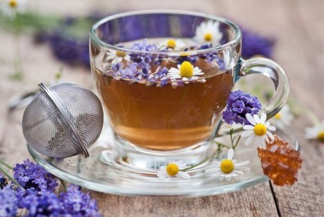 Лавандово-ромашковый чай