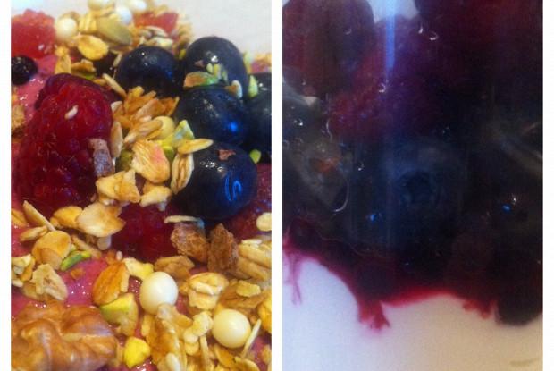 Творожно-ягодный завтрак