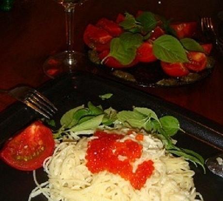 Спагетти «Четыре сыра»
