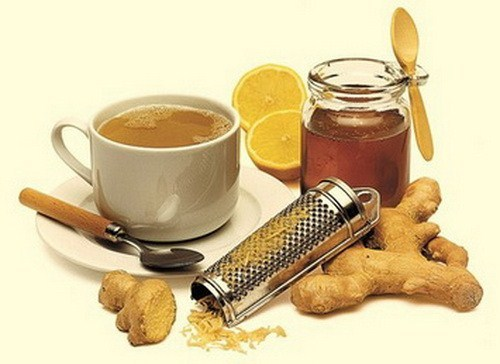 Имбирный чай с медом и черным перцем