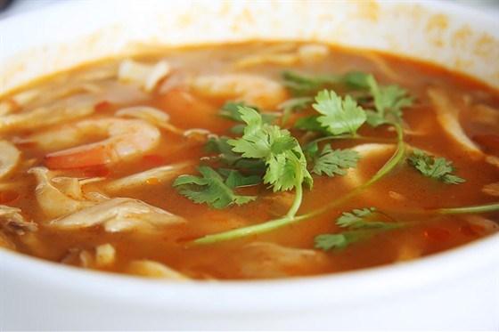 Перуанский рыбный суп