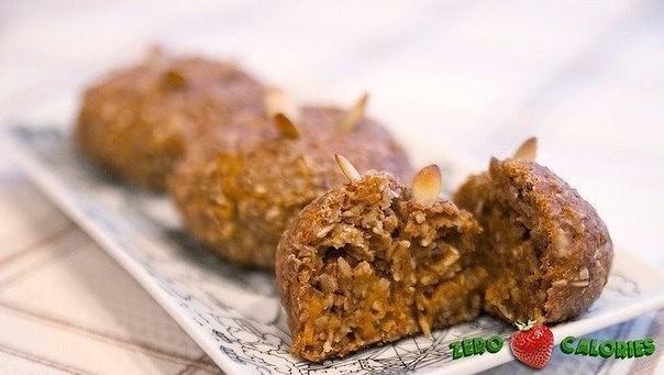 Морковно-банановое печенье из овсяных хлопьев