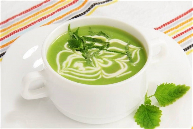 Весенний суп из горошка от Гордона Рамзи