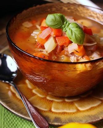 Суп «Минестра»