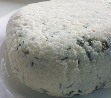 Домашний сыр из деревенского молока