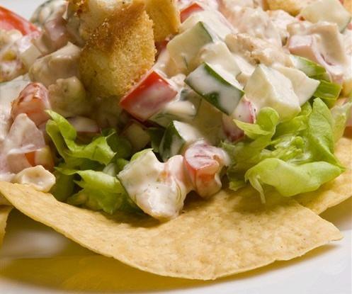 Мексиканский картофельный салат
