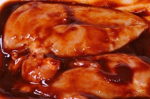 Клюквенный соус барбекю