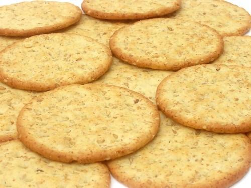 Печенье с дижонской горчицей, имбирем и корицей