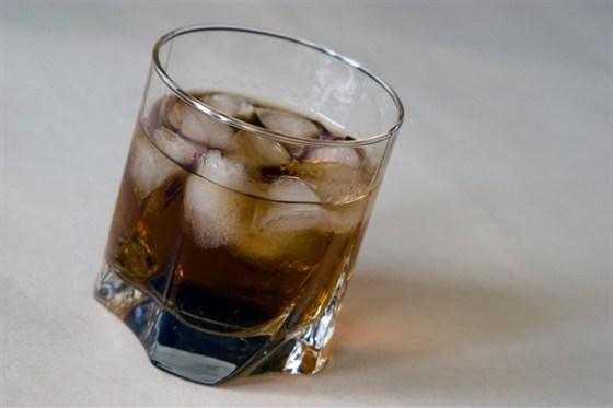 Кофейный коктейль «Черный русский»