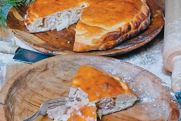 Черинянь, илитрадиционный рыбный пирог коми-зырян