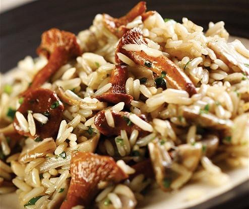 Начинка из сушеных грибов с рисом